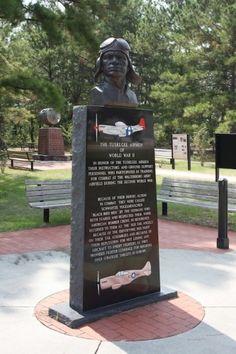 Tuskegee Airmen Monument - Colleton County South Carolina SC