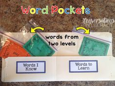 I have a system similar to this that I use during guided reading.  This one looks a little easier to make.