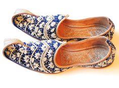 Pakistani Wedding Khussas Shoes Aladdin by oldsilkroute on Etsy