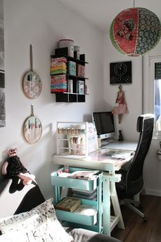 Pretty Handmade BCN: My craft room