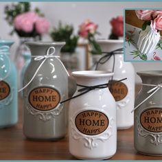 Nowe kształty, wzory, kolory . . .  każdy znajdzie wazon odpowiedni dla siebie. I Am Happy, Im Happy