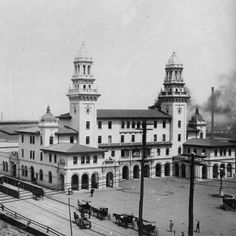 Atlanta Terminal Station Located on Spring Street, Atlanta's Terminal Station was designed by P. Thornton Marye, whose firm also designed t...