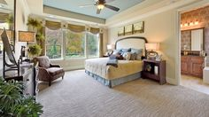 New Homes Allen | Star Creek | Trails at Star Creek | Dallas -- west windows looking out on woods...
