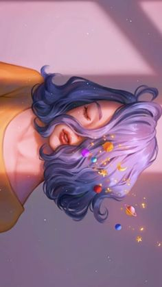 Girls Cartoon Art, Girly Art, Cool Art Drawings, Animation Art, Dreamy Art, Cute Art, Cartoon Art Styles, Art, Digital Art Girl
