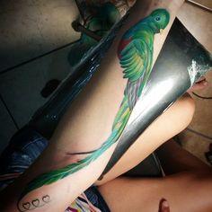 Quetzal para Ximena  By María Lucero Sáenz