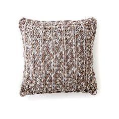 Bernat® Maker Home Dec™ Chain Texture Crochet Pillow