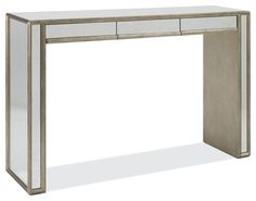 Large Temple Console with 3 Drawers