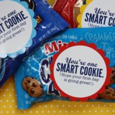 you're one smart cookie...orientation or back to school night