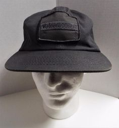 Rare discontinued 91 Volcom Scout series Mens Gray Mission Service Hat Cap #Volcom #TruckerHat