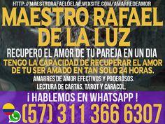 MAESTRO RAFAEL DE LA LUZ, TE AMARRO Y DOMINIO A TU PAREJA. CONSULTA (1) 7863585652 - #Clasiesotericos #USA
