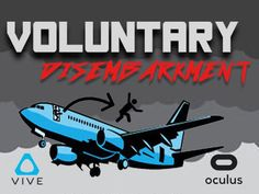 Vr Game about United Airlines Voluntary Disembarkment
