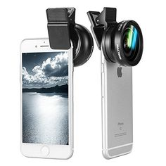 Zakitane 2 In 1 Clip-On Universal Professional HD Camera Lens Kit for iPhone 6s / 6s Plus / 6 / 5s, Samsung Galaxy S6 / S5, Mobile Phone (0.45x Super Wide Angle Lens + 12.5x Super Macro Lens + 37mm Thread Clip Holder) , http://www.amazon.co.uk/dp/B0199VSXF4/ref=cm_sw_r_pi_dp_ibJdxb19BBJNK
