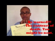 Do not get tricked into these kind of contracts. http://youtu.be/qz_foBniYZ4 #travel #traveling #vacation #holiday #travelling #tourism #igtravel #followme #like4like #watchdogs #scams