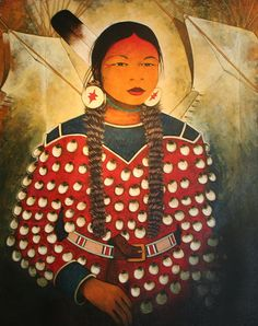 """""""Blue Bird"""" by Kevin Red Star. Native American Artifacts, Native American History, Native American Indians, Native American Paintings, Indian Paintings, Crow Indians, Southwest Art, American Indian Art, Star Art"""