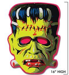 Retro-a-go-go! - Cranky Frankie Mask Metal Sign*, $24.99 (http://www.retroagogo.com/cranky-frankie-mask-metal-sign/)