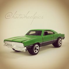 '69 Dodge Charger - 2008 Hot Wheels - Muscle Mania #hotwheels | #diecast | #toys | #Dodge | #musclecar | #hwp2008ml