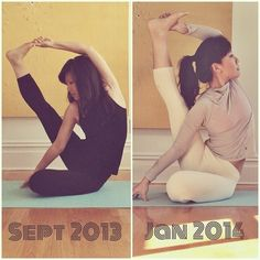 Yoga Progress.   **credit to owner.**