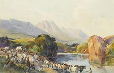 (n/a) Charles Ernest Peers (South African, 1875-1944) The Great Trek