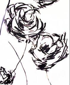 Vintage Floral. Luli Sanchez  #BlackWhite