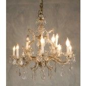 Vintage 1950 Marie Theresa Style Chandelier