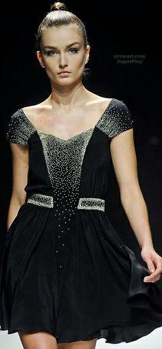 Maxime Simoens sexy cocktail dress