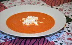 Zupa-krem pomidorowo-paprykowy.