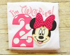 I'm Twodles Minnie Mouse 2nd Birthday by TheChicBee on Etsy