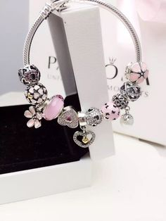 50% OFF!!! $279 Pandora Charm Bracelet. Hot Sale!!! SKU: CB01381 - PANDORA Bracelet Ideas