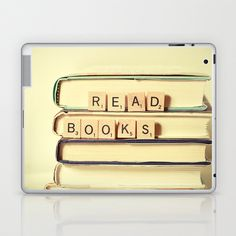 Read Books Laptop & iPad Skin by Olivia Joy StClaire - $25.00