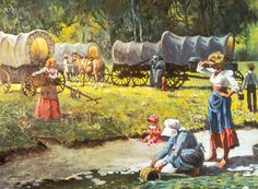 Mormon Pioneer Women | As the Saints traveled to the Salt Lake Valley, women helped one ...