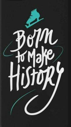 """Born to make History"" es el opening del anime Yuri on ice!!"