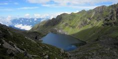 Gosaikunda (Gosainkunda) is a sacred lake located at an altitude of approx. 4380 m. and surrounded by mountains in almost all of its sides.