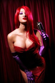 Jessica Rabbit Nude Cosplay