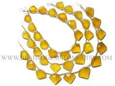 Excellent Quality AAA Yellow Chalcedony Beads In Pentagon #yellowchalcedony #yellowchalcedonybeads #yellowchalcedonybead #yellowchalcedonypentangon #pentagonbeads #beadswholesaler #semipreciousstone #gemstonebeads #beadsogemstone #beadwork #beadstore #bead