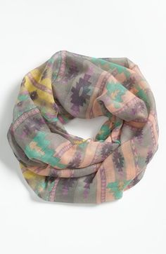 BP.+Southwestern+Print+Infinity+Scarf+available+at+#Nordstrom