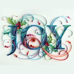 """<p>Ce magnifique travail de typographie réalisé par <a title=""""typo en quilling"""" href=""""http://www.artyulia.com/index.php/Illustration"""" target=""""_blank"""">Yulia Brodskaya</a> sera parfait..."""