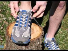 """How to Prevent Running Shoe Blisters With a """"Heel Lock"""" or """"Lace Lock"""" - YouTube"""