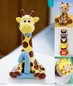 Giraffe Cupcake Ideas