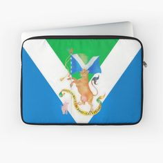 """Flag of Compassion"" Laptop Sleeve by klephotography 