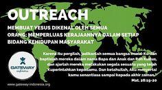 Gateway Indonesia 2016: DISCIPLESHIP - LINKING THE GENERATIONS - Outreach Outreach: Membuat YESUS dikenal oleh semua orang; memperluas Kerajaan-Nya dalam setiap bidang kehidupan masyarakat. -Konferensi: 21-25 JUNI 2016 Lokasi: SMA Kr. GLORIA 2 Pakuwon City Surabaya. -Outreach: 26-28 JUNI 2016 Lokasi: Surabaya  http://ift.tt/1TEWAyO Bagian dari pelayanan global #kingskids #ywam international #ywamindonesia  #gatewaysurabaya2016 #generations #families #childrenandyouth #missionconference…