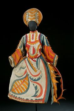 Costume, 1921, for Stravinsky's ballet Chout.