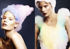 """HAVING A BUBBLE"" EDITORIAL IN USED MAGAZINE | Trendland: Fashion Blog & Trend Magazine"