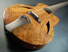 Richard Lewis - Custom Archtop Acoustic Guitar #170