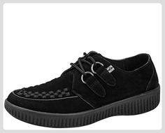 T.U.K. A8483 VIVA CREEPERS BLACK EU 38 TUK Shoes , DAMEN HERREN UNISEX Skateboardschuhe - Damen pumps (*Partner-Link)