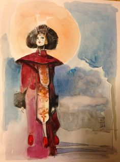 Alex Maleev Amidala, in Ted Lanting's Princess Amidala Comic Art Gallery Room Reina Amidala, Queen Amidala, Amidala Star Wars, Star Wars Padme, Comic Book Artists, Comic Artist, Darth Vader And Son, Star Wars Fan Art, Star Trek