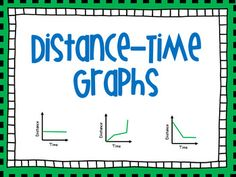 Distance-Time Graph Lesson with Interactive... by Kayla Renee' | Teachers Pay Teachers