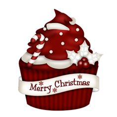 "Photo from album ""Candy Cane Christmas"" on Yandex. Cupcake Drawing, Cupcake Art, Paper Cupcake, Cupcake Fondant, Vintage Cupcake, Rose Cupcake, Cupcake Toppers, Christmas Drawing, Christmas Art"