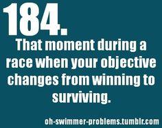 Happens every 400im I swim