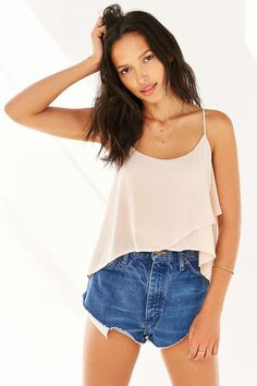 Kimchi Blue Crossover Cami - Urban Outfitters