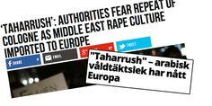 """Taharrush inte en """"våldtäktslek som kommit till Europa"""""""
